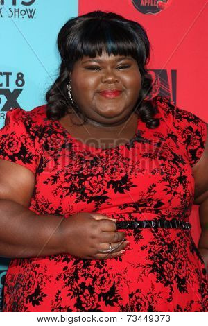 LOS ANGELES - OCT 5:  Gabourey Sidibe at the