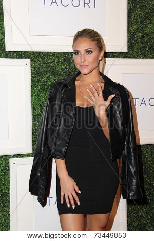 LOS ANGELES - OCT 7:  Cassie Scerbo at the Club Tacori 2014 at Hyde on October 7, 2014 in West Hollywood, CA