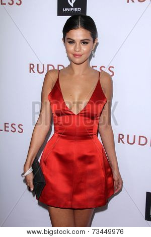 LOS ANGELES - OCT 7:  Selena Gomez at the