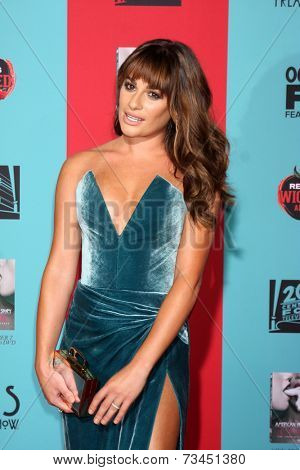 LOS ANGELES - OCT 5:  Lea Michele at the