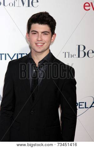 LOS ANGELES - OCT 7:  Ian Nelson at the
