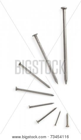 nail tool isolated on white background