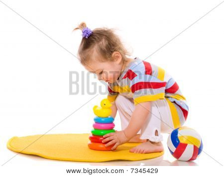Criança brincando
