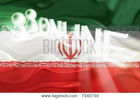 Flag Of Iran Wavy Online