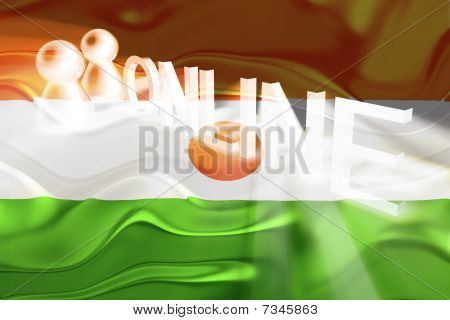 Flag Of Niger Wavy Online