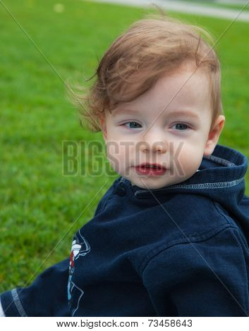 Baby Boy In The Park
