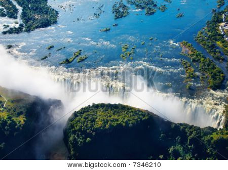 Zambezi River And Victoria Falls
