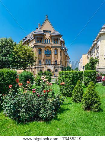 Targu Mures city center