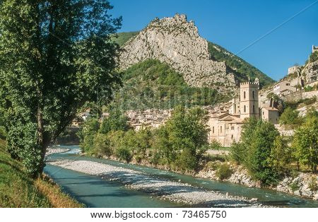 Village Of Entrevaux