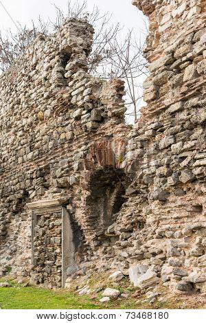Ols city walls Istanbul
