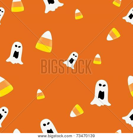 Ghost and Candycorn