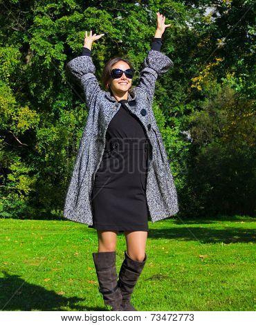 Outdoor Closeup Woman