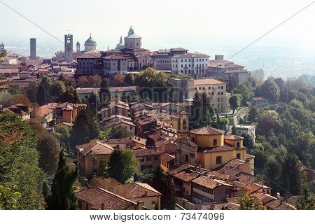 View At Bergamo, Italy.
