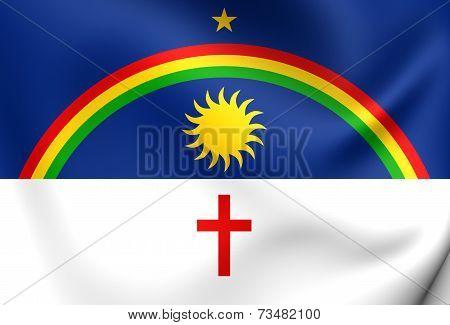 Flag Of Pernambuco, Brazil.