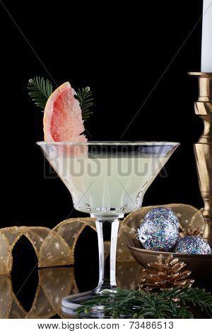 Winter Grapefruit Martini