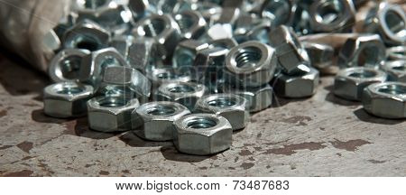 Load Of New Alloy Nuts