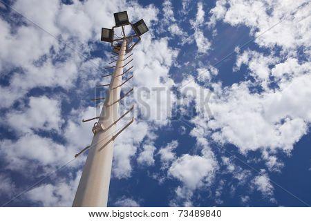 Karting Circuit Spotlight Pole