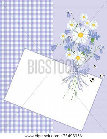 Tablecloth And Flowers