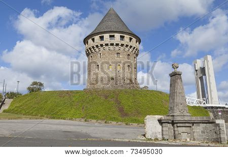 Tanguy Tower In Brest, Brittany, France