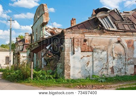 Destroyed The Old Building