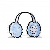 picture of muff  - cartoon ear muffs - JPG