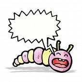 foto of caterpillar cartoon  - cartoon caterpillar - JPG