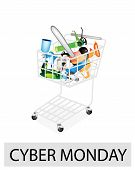 image of gun shop  - A Shopping Cart Full with Capenter Tools for Cyber Monday Shopping Season and Biggest Discount Promotion in A Year - JPG
