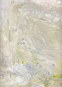 stock photo of canvas  - abstract layer artwork opaque and transparent oil paint textures on canvas - JPG