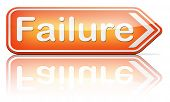 stock photo of fail job  - failure fail exam or attempt can be bad especially when failing an important task or in your study failing an exam - JPG