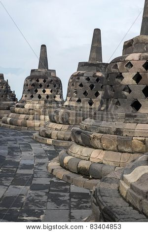 Bell Shaped Stonework
