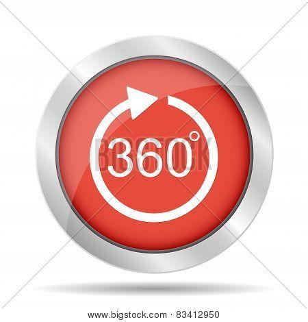360 Vector Icon