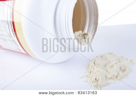 A big bottle of protein nutrition facts