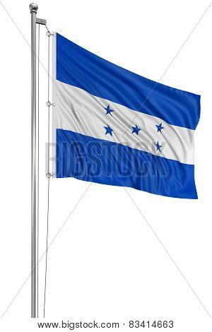 3D Flag of Honduras