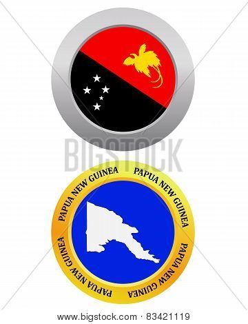 Button As A Symbol Papua New Guinea
