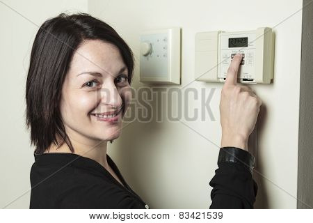 Thermostat woman set
