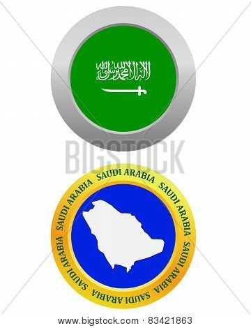 Button As A Symbol Saudi Arabia