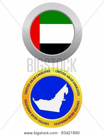 Button As A Symbol United Arab Emirates