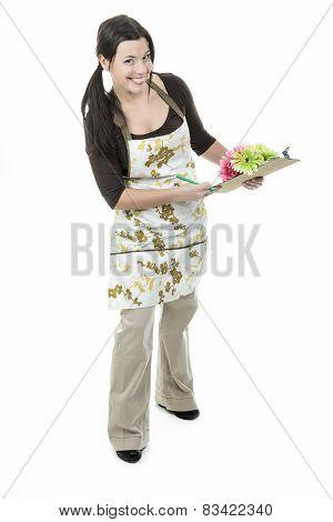 Florist woman