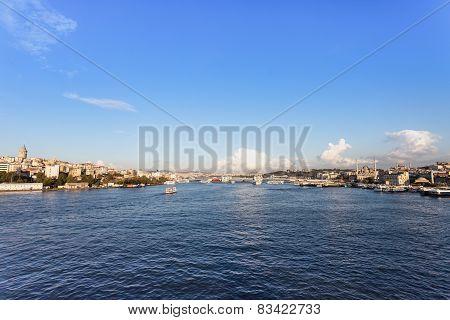 The Galata Bridge