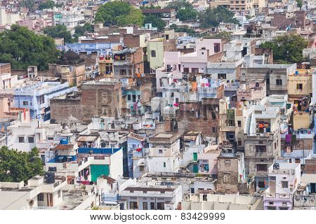 Aerial View Udaipur, India