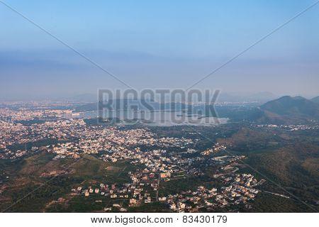 Aerial View, Udaipur