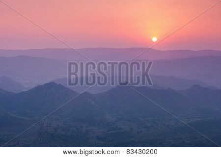 Aravalli Mountains, Udaipur