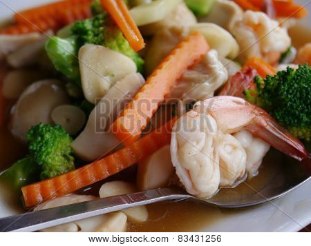 vegetables fried for Healthy