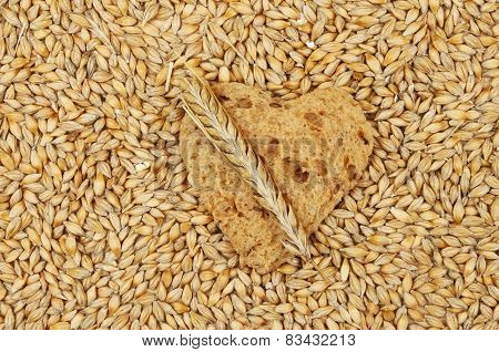 Barley And Bread Heart
