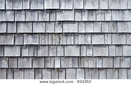 Weathered Wood Shingle Siding