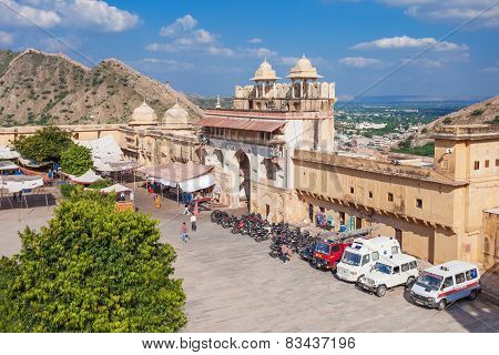 Amer Fort Near Jaipur