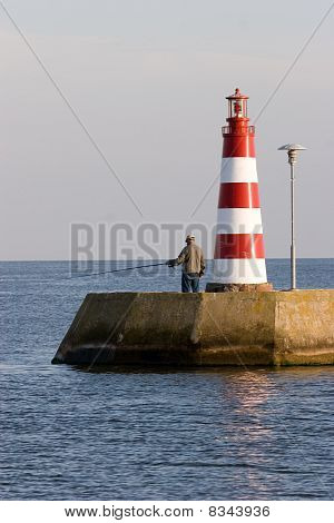 Lighthouse In Nida, Lithuania