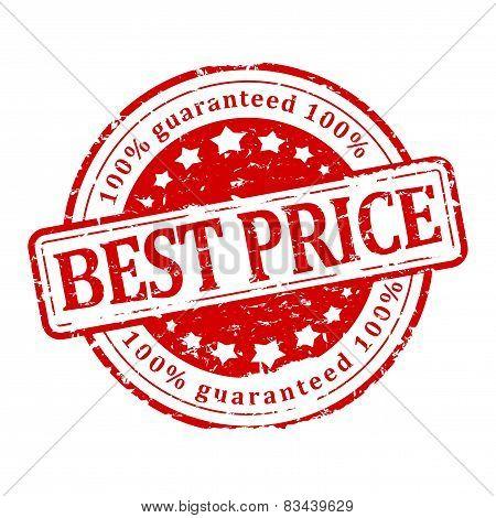 Damaged Round Stamp - Best Price