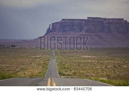 Arizona, Usa: The Scenic Road To Monument Valley