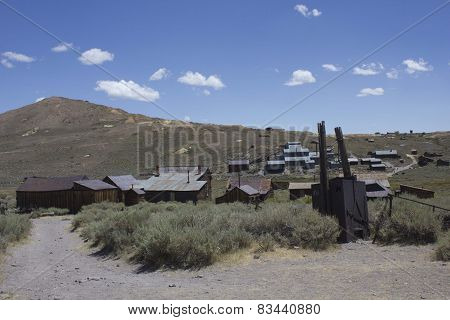 Bodie Ghost town overview